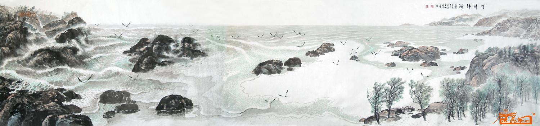 壶僧-百川归海-淘宝-名人字画-中国书画交易中心