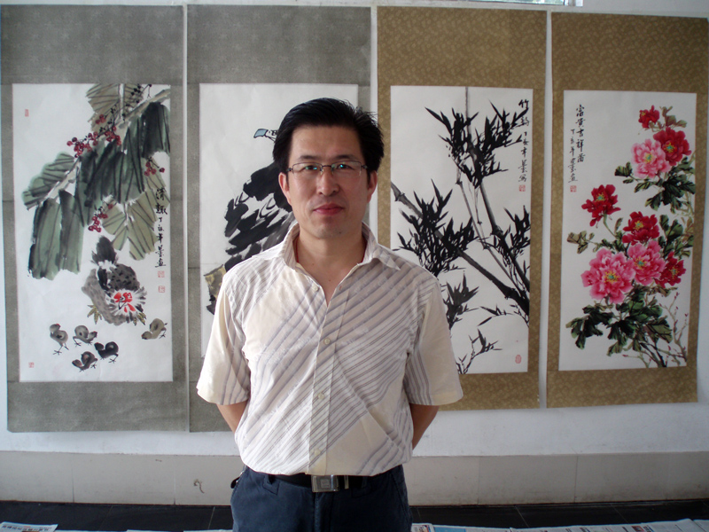王国玉-作品4-淘宝-名人字画-中国书画服务中心图片