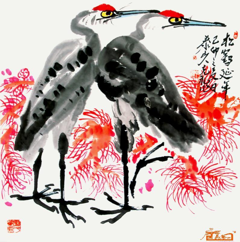 作品名称 《36丹顶鹤》 收藏序号 jdys200903107239-220382 作者 路