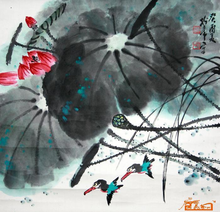 国画 名家 杨树常国际艺术席位作品交易平台