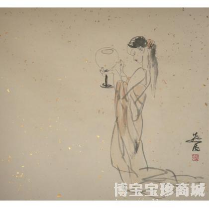 燕民作品 写意人物画 国画人物 水墨画 类别 国画人物作品