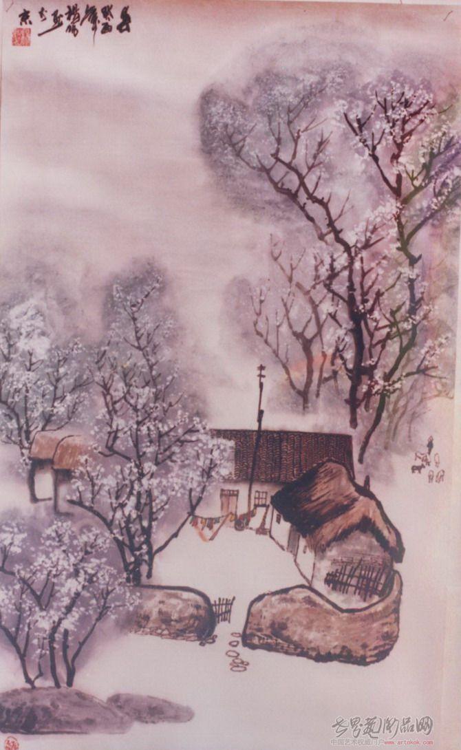 杨帆-国画山水-淘宝-名人字画-中国书画交易中心,中国