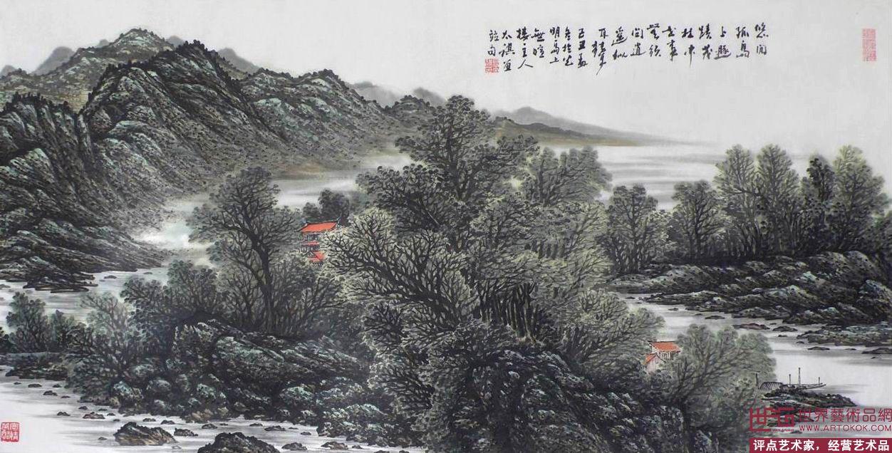 高太祺-高太祺山水画作品-淘宝-名人字画-中国书画,,.图片