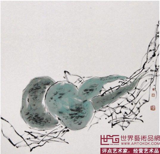 扈鲁-葫芦-淘宝-名人字画-中国书画交易中心,中国书画